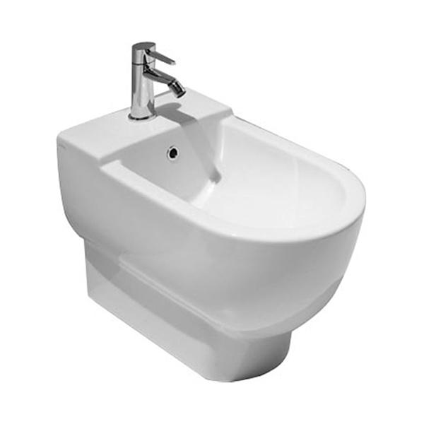 Биде приставное AXA One Classic, белое 1302001