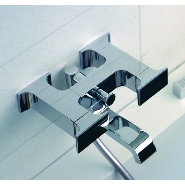Настенный смеситель для ванны и душа Ritmonio Type-face, хром M0BA3030CRL