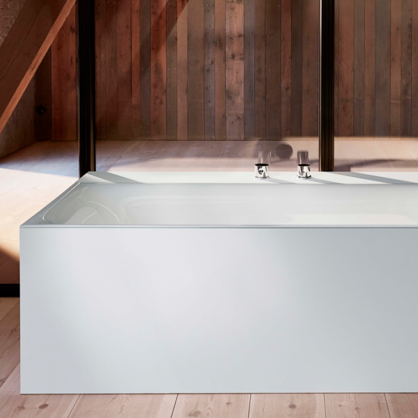 Ванна стальная Bette BetteLux 190x90 в комплекте с шумоизоляцией, белая 3442-000 AD