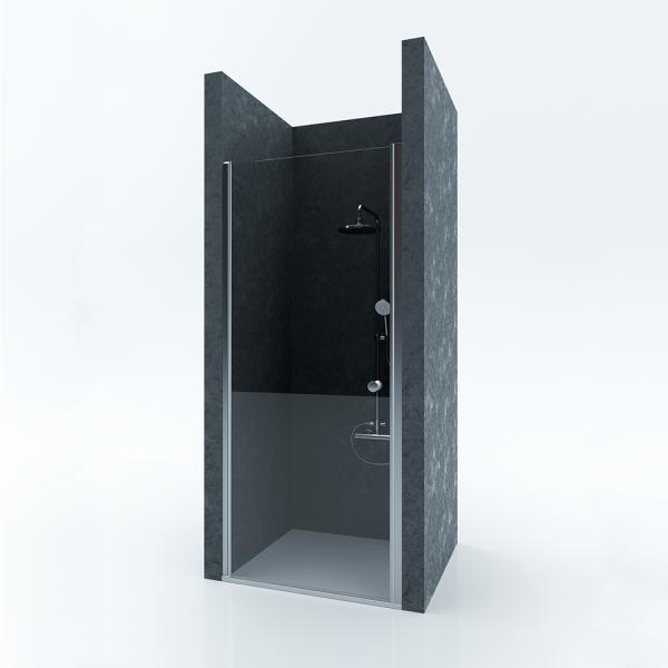 Душевая дверь в нишу STURM Door New 800x1900 прозрачные стекла. Хром ST-DOOR08-NTRCR-NEW