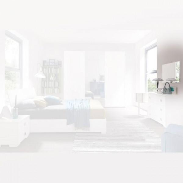 Зеркало STURM Metropol 880x550x55, цвет белый глянцевый EMET01
