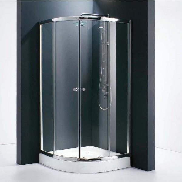 Душевое ограждение STURM Gallery 900х900х1900 прозрачные стекла. Хром ST-GALL0909-NTRCR