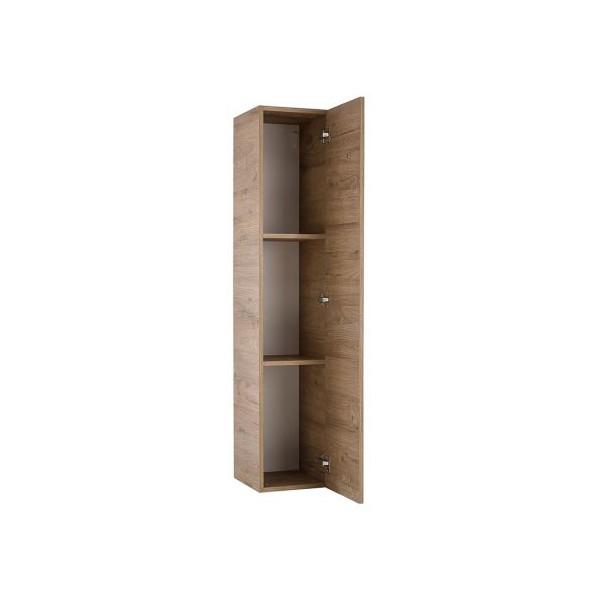 Навесной шкаф STURM Puzzle с дверцей и с полками 290x310x1390, цвет медовый дуб HPUZ2957