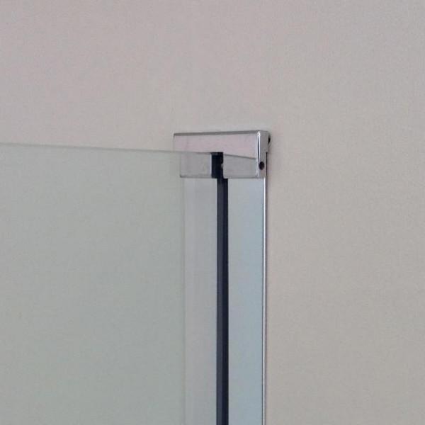 Профиль для стационарного стекла STURM Joint, h=2000 мм, argento lucido, KUJ2PR20030