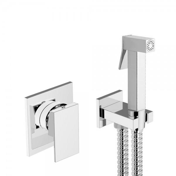 Гигиенический душ со смесителем STURM Cubic, хром LUX-CUBIC-CR