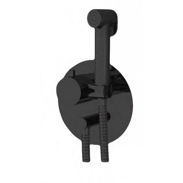 Гигиенический душ со смесителем STURM DC чёрный матовый LUX-DCTHERM-BM