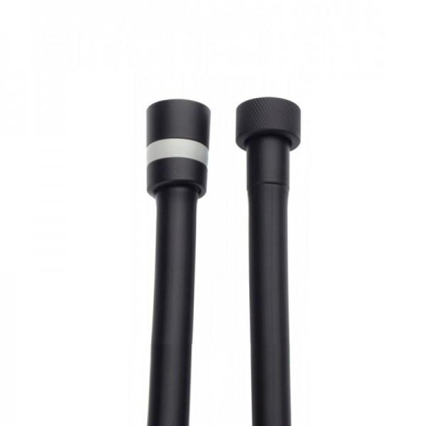 Душевой шланг STURM Universal 1500 мм, чёрный матовый LUX-DS090-BM
