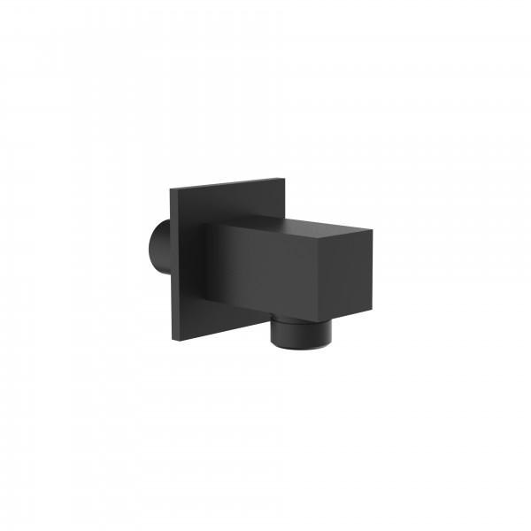 Шланговое подсоединение STURM Universal фланец 50x50 мм чёрный матовый LUX-DS1734-BM
