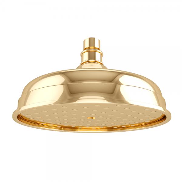 Верхний душ STURM Emilia d=207 мм, золото LUX-EMI-51614-GL
