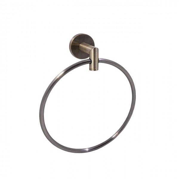 Кольцо для полотенца STURM Round, бронза, LUX-RND1110-BR