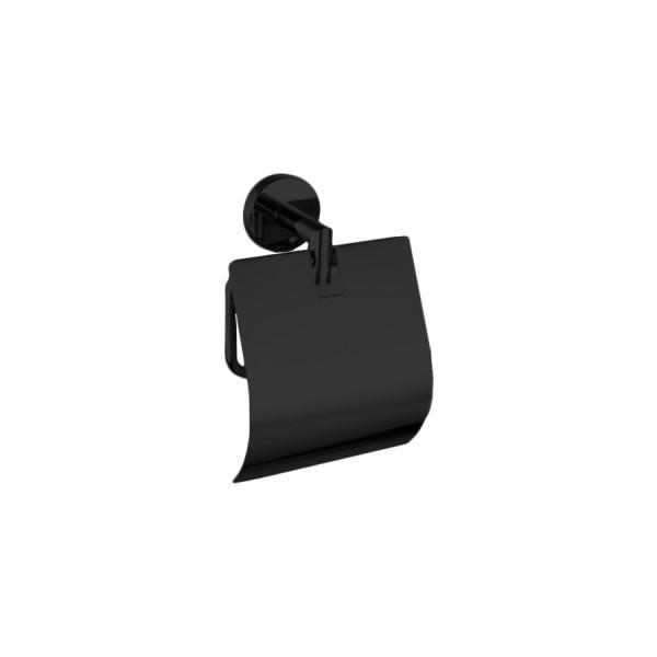 Держатель для туалетной бумаги STURM Round, черный матовый, LUX-RND511-BM