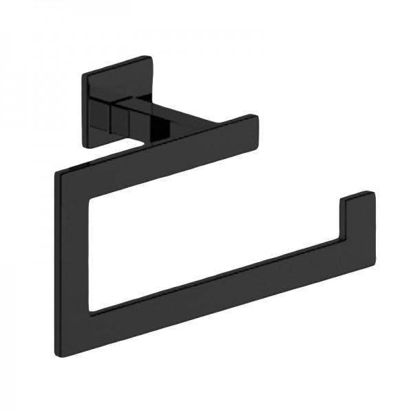 Кольцо для полотенца STURM Slim, черный матовый, LUX-SLIM1110-BM