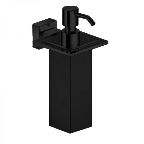 Дозатор для жидкого мыла STURM Slim, черный матовый, LUX-SLIM310-BM