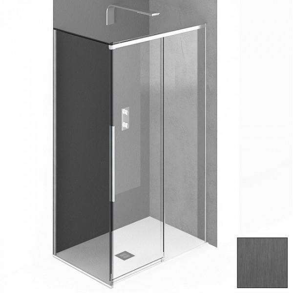 Фиксированное стекло для душевого ограждения STURM PDP-line New Generation 80х200 см, прозрачное стекло. Scotch Brite Titan NGF7IR07890TR