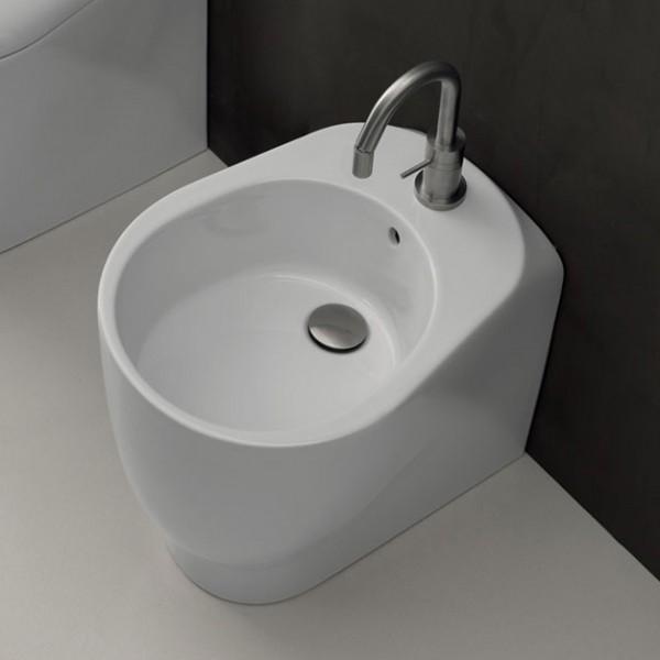 Биде приставное AXA Normal 48 см, белое матовое 2602212