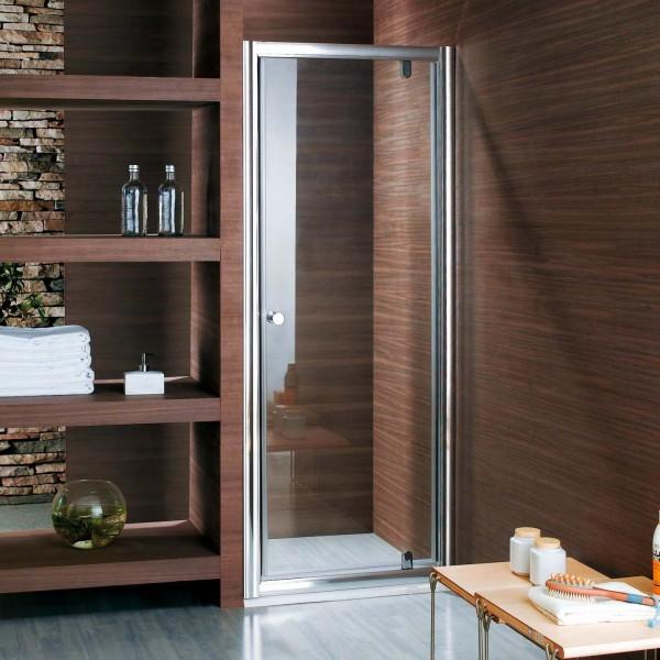 Душевая дверь в нишу STURM Puerta 900x1900 прозрачные стекла. Золото ST-PUER09-NTRGL