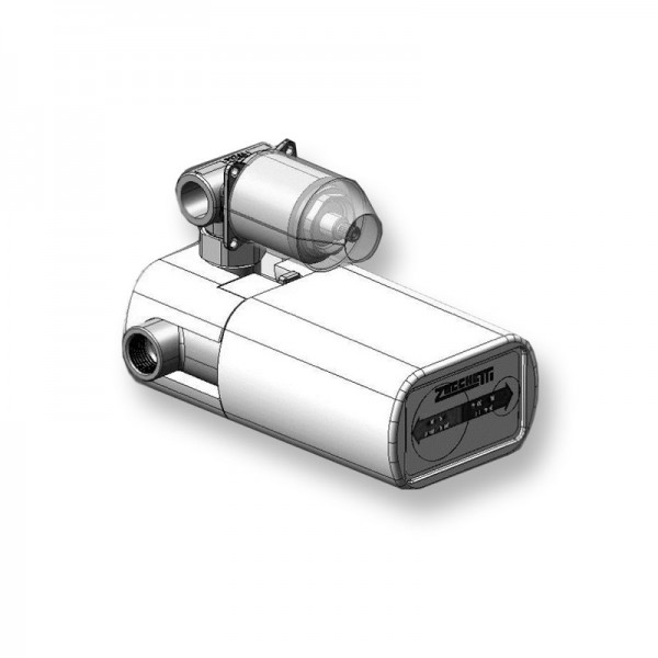Встраиваемая часть термостата Zucchetti с запорным дивертером на 2 потока R98662