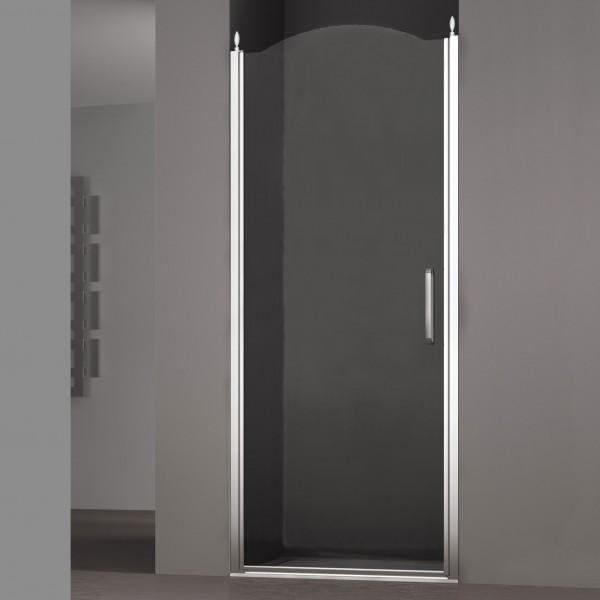 Душевая дверь в нишу STURM Schick Left 800x1950/2050 прозрачные стекла. Хром LUX-SCHI08-LTRCR