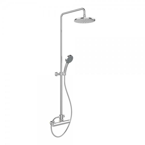 Душевой набор STURM Air: термостат, верхний душ, ручной душ, металлический шланг 150 см, хром ST-AIR-15060-CR