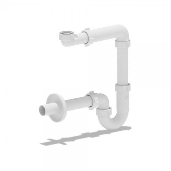 Сифон STURM AN компактный для раковины, белый пластик ST-AN5023-WM