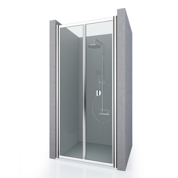 Душевая дверь в нишу STURM Astra New, 75x190 см, прозрачные стекла, хром, ST-ASTR07-NTRCR-NEW