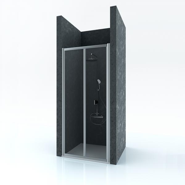Душевая дверь в нишу STURM Astra 800x1900 прозрачные стекла. Хром ST-ASTR08-NTRCR