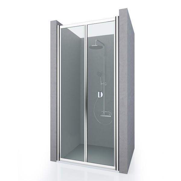 Душевая дверь в нишу STURM Astra New, 80x190 см, прозрачные стекла, хром, ST-ASTR08-NTRCR-NEW