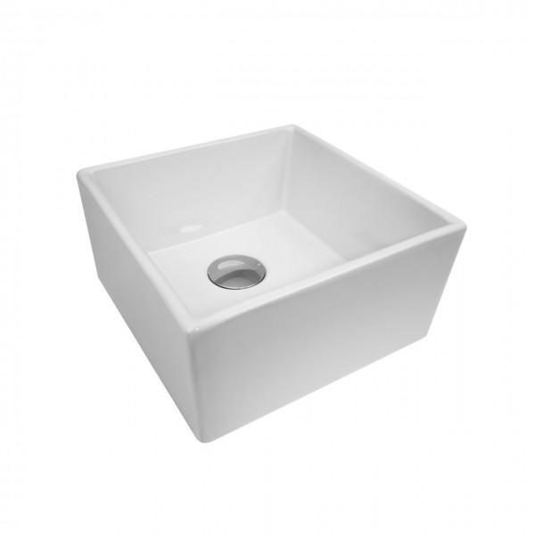 Раковина накладная STURM Conta 39.5x39.5 см, белая ST-CO243900-NBNCR