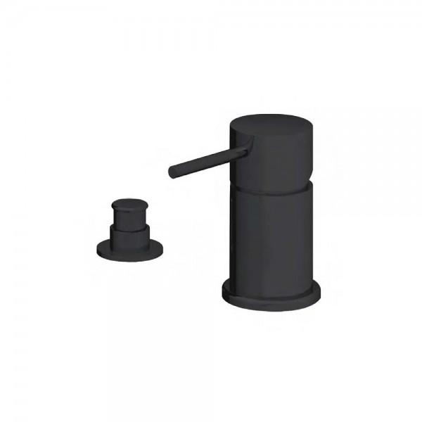 Смеситель для ванны STURM Daiquiri Black на 2 отв. (на горизонтальную поверхность), чёрный матовый, ST-DAI-45182-BM