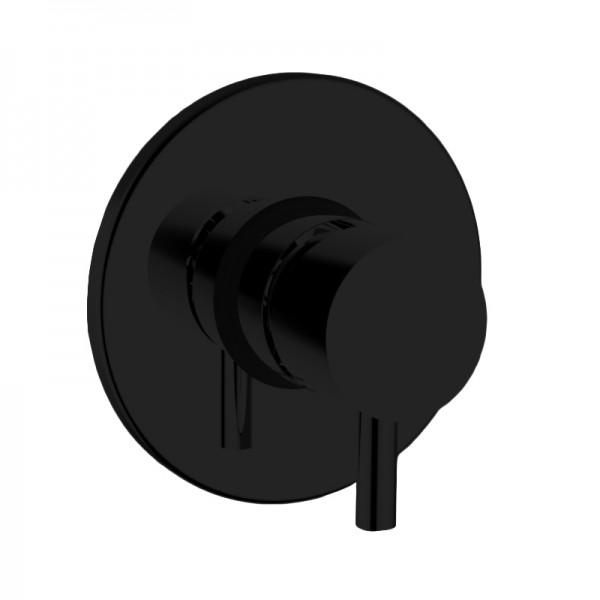 Смеситель для душа STURM Daiquiri, встраиваемый с внутренней частью, черный матовый, ST-DAI-94070-BM