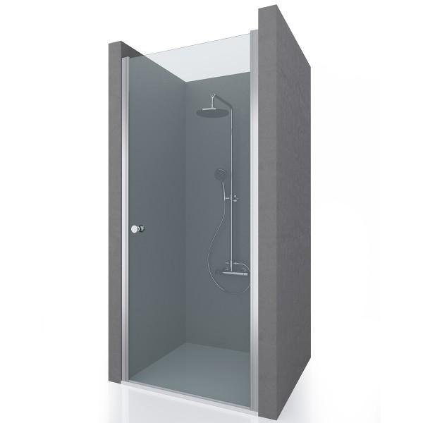 Душевая дверь в нишу STURM Door New 750x1900 прозрачные стекла. Хром ST-DOOR07-NTRCR-NEW