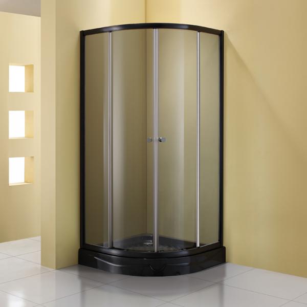 Душевое ограждение STURM Gallery 1000х1000х1900 тонированные стекла. Черный ST-GALL1010-NTOBK