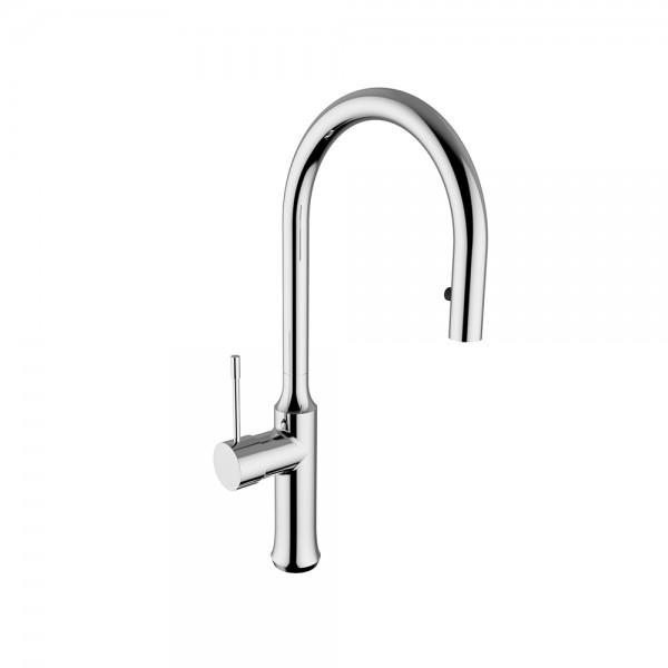 Смеситель для кухни STURM Zona di Gusto с выдвижным изливом, хром ST-GUS-86027-CR