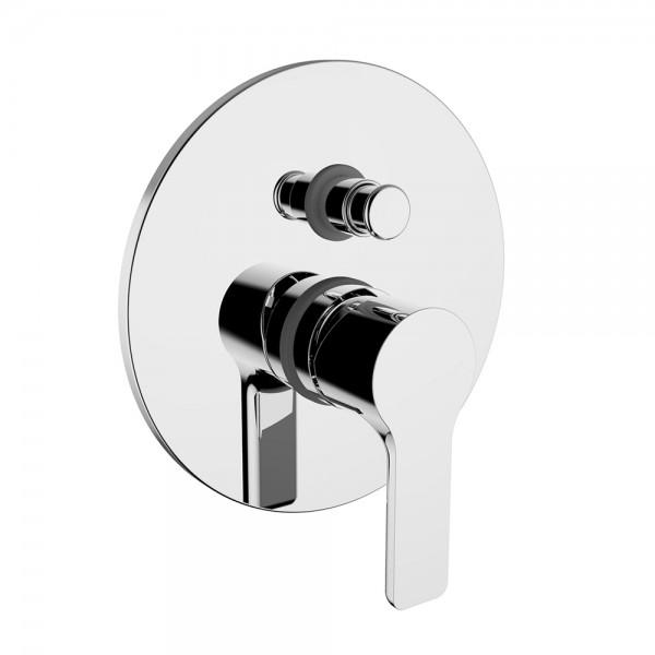 Смеситель для ванны/душа STURM Mohito встраиваемый с переключателем, хром ST-MOH-44090-CR