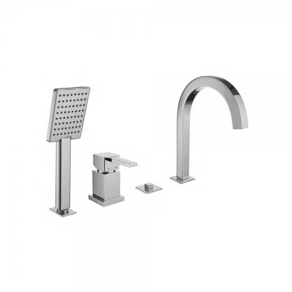 Смеситель для ванны STURM Platz на 4 отв. (на горизонтальную поверхность), хром, ST-PLA-09080-CR