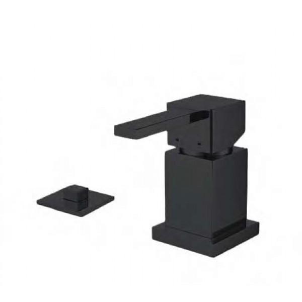 Смеситель для ванны STURM Platz Black на 2 отв. (на горизонтальную поверхность), чёрный матовый, ST-PLA-09082-BM