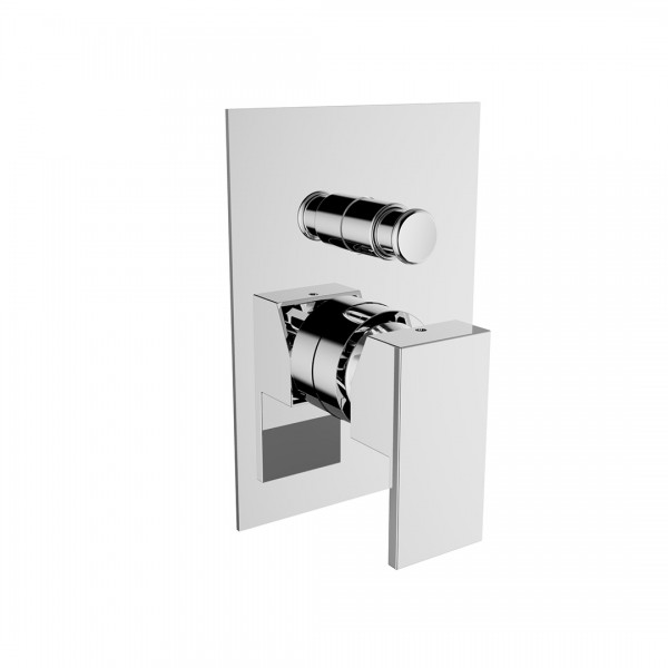 Смеситель для ванны/душа STURM Platz со встраиваемой частью, хром ST-PLA-80010-CR