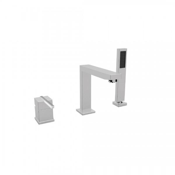 Смеситель для ванны STURM Platz на 3 отверстия на горизонтальную поверхность, хром ST-PLA-80153-CR