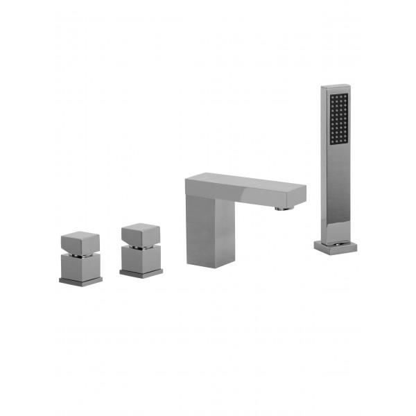 Смеситель для ванны STURM Platz на 4 отверстия на горизонтальную поверхность, хром ST-PLA-80154-CR