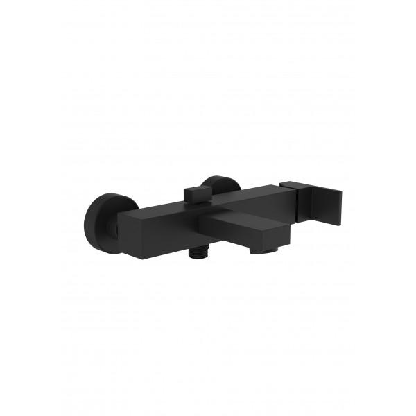 Смеситель для ванны STURM Platz Black настенный, чёрный матовый ST-PLA-80160-BM