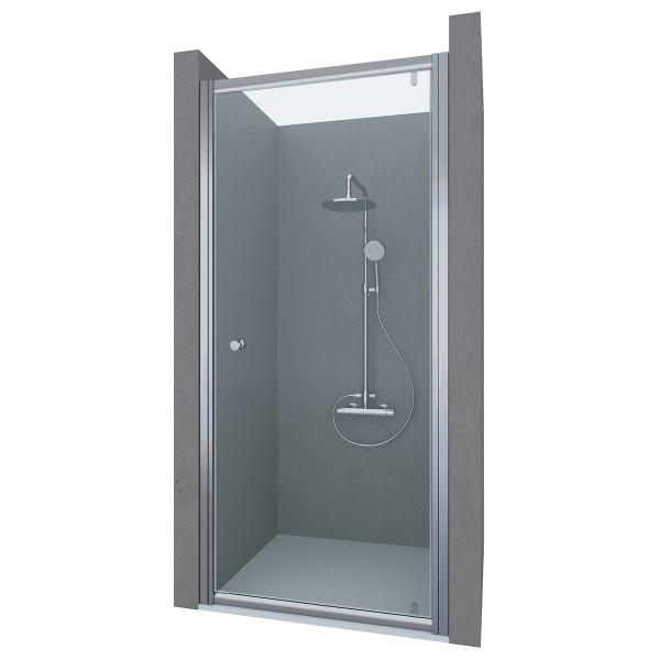 Душевая дверь в нишу STURM Puerta 750x1900 прозрачные стекла. Хром ST-PUER07-NTRCR