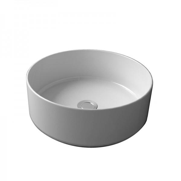 Раковина накладная STURM Rio D=40 см, белая ST-RI574000-NBNCR