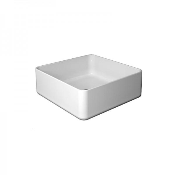 Раковина накладная STURM Rio 40x40 см, белая ST-RI584000-NBNCR