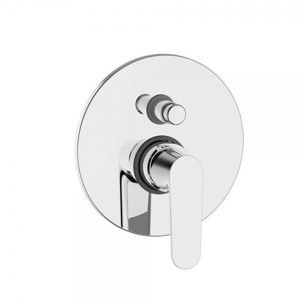 Смеситель для ванны/душа STURM Tauro встраиваемый с переключателем, хром ST-TAU-144090-CR