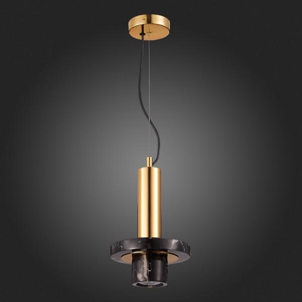 Светильник подвесной STURM Gres, 19х29/121 см, 1*G9 3W max, черный/золото, STL-GRE041419