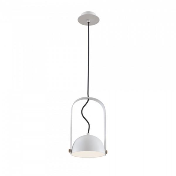 Светильник подвесной STURM Kurt, светодиодный D151H274/1224 (LED 1*6W 3000k 210lm), белый, STL-KUR022415