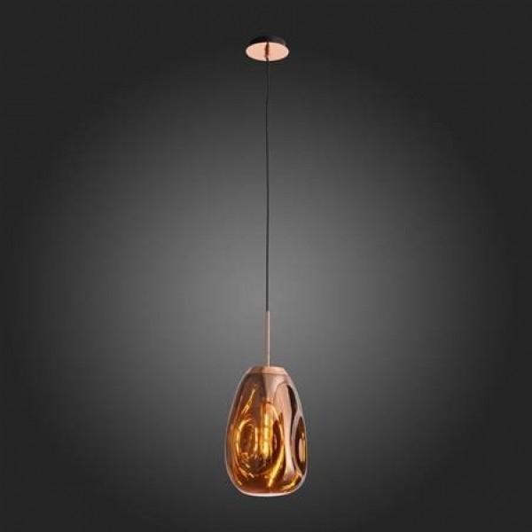 Светильник подвесной STURM Mercury, 220x1200мм (1*Е27 60W), розовое золото, STL-MER011245