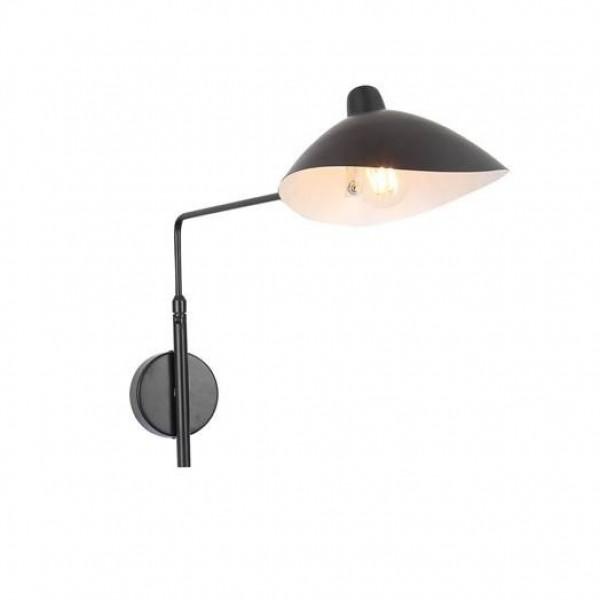 Светильник настенный STURM Neck, 240х900х360мм (1*E27 60W), черный, STL-NEC012233