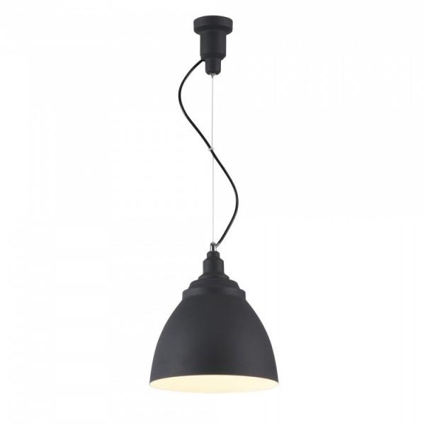 Светильник подвесной STURM Oslo, D250H400/1897 (1*E27 60W), черный, STL-OSL022014