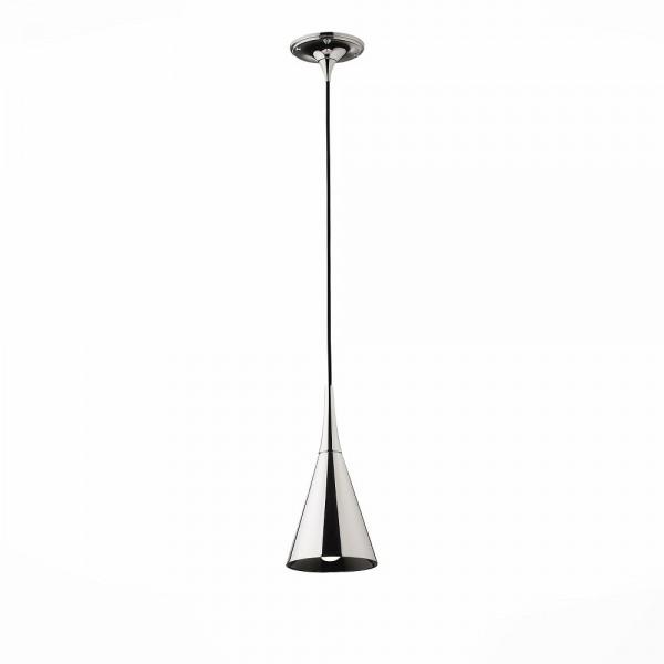 Светильник подвесной STURM Pitch, D140H1200 (1*40W E27 max), хром, STL-PIT012531